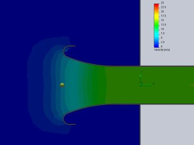 Velocity Stack Flow Simulation