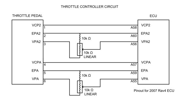 Throttle controller wiring diagram