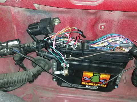 2GR ECU with throttle controller wiring