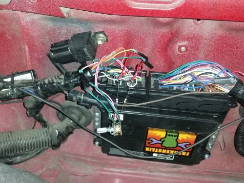 Throttle controller wired for testing