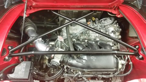 2GR-FE Engine in MR2 Engine Bay