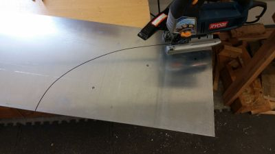 Cutting diffuser side plates