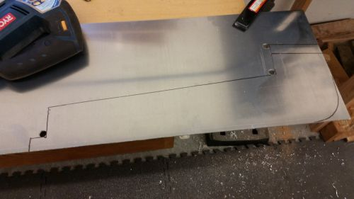 Cutting diffuser center tunnel plates