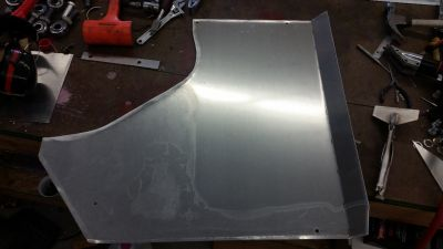 MR2 sheet metal transmisison under panel