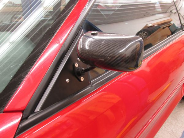 APR Mirrors installed on MKII MR2