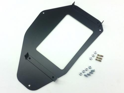 Wilhelm Raceworks oil cooler mounting plate