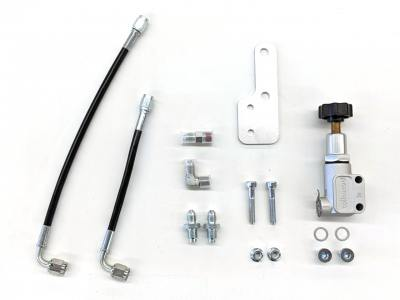 Brake proportioning valve install kit for MR2 without ABS