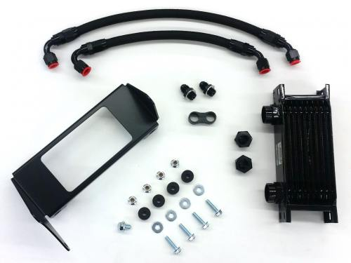 Wilhelm Raceworks transmission cooler kit for E153